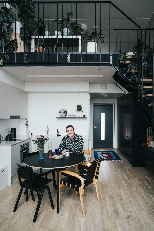 Yksiön keittiöremontti, aina-keittiöt, pesojoonas, loft
